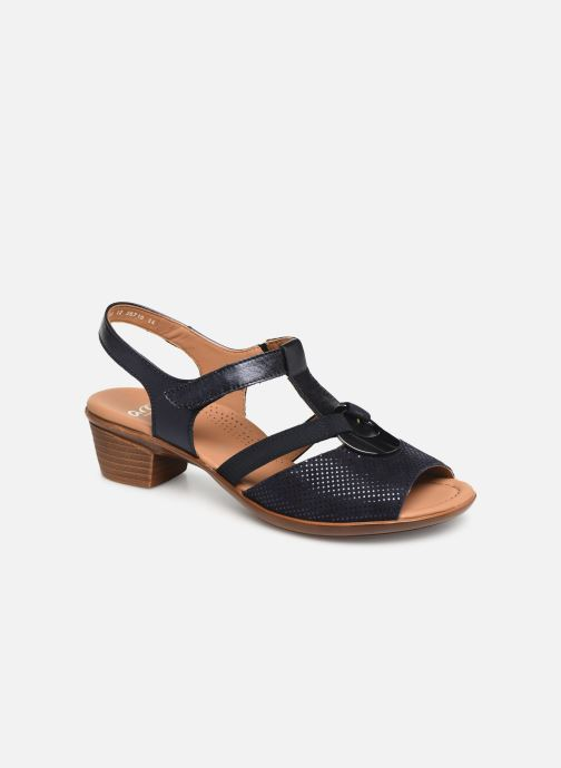 Sandales et nu-pieds Ara Lugano 35715 Bleu vue détail/paire