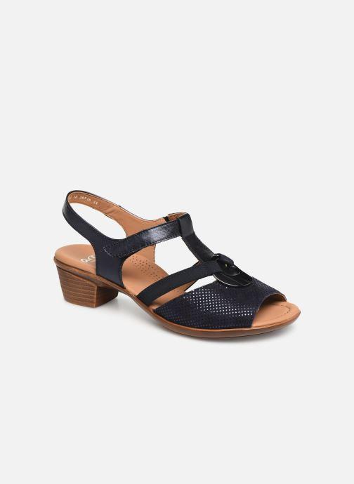 Sandaler Ara Lugano 35715 Blå detaljeret billede af skoene