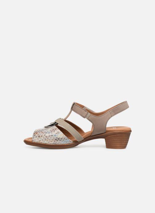 Sandales et nu-pieds Ara Lugano 35715 Beige vue face