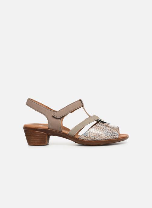 Sandales et nu-pieds Ara Lugano 35715 Beige vue derrière