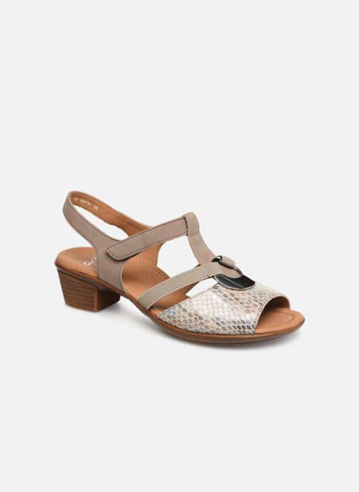 Sandals Ara Lugano 35715 Beige detailed view/ Pair view