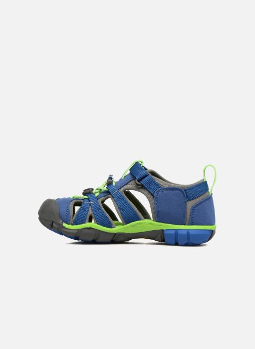 Sandales et nu-pieds Keen Seacamp ll CNX Bleu vue face