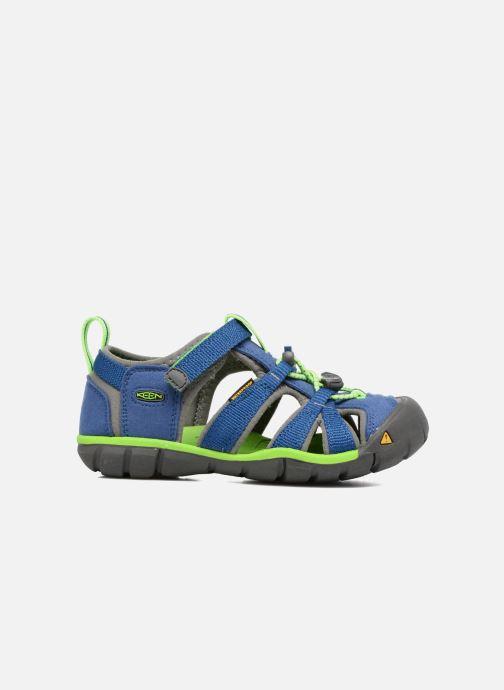 Sandales et nu-pieds Keen Seacamp ll CNX Bleu vue derrière