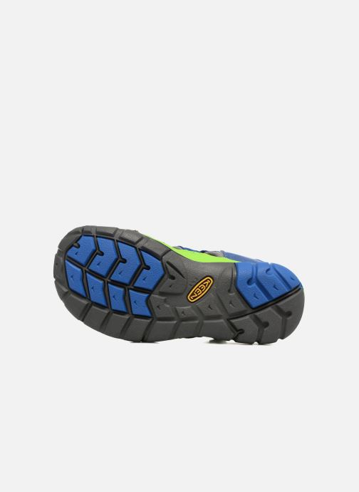 Sandales et nu-pieds Keen Seacamp ll CNX Bleu vue haut