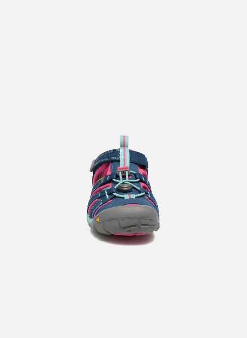 Sandales et nu-pieds Keen Seacamp ll CNX Bleu vue portées chaussures