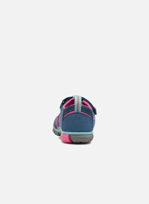Sandales et nu-pieds Keen Seacamp ll CNX Bleu vue droite