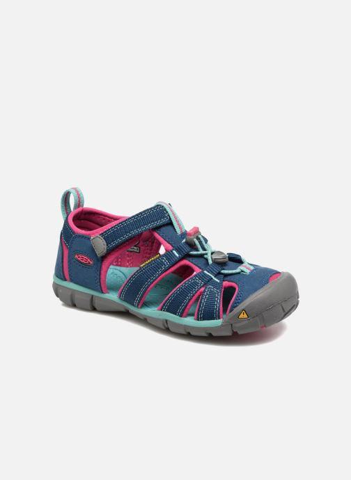 Sandales et nu-pieds Keen Seacamp ll CNX Bleu vue détail/paire