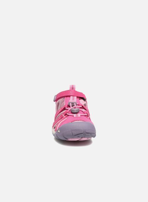 Sandales et nu-pieds Keen Seacamp ll CNX Rose vue portées chaussures