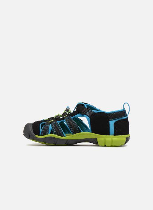 Sandales et nu-pieds Keen Seacamp ll CNX Noir vue face