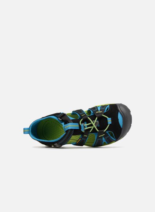 Sandales et nu-pieds Keen Seacamp ll CNX Noir vue gauche