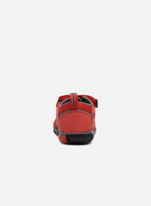 Sandales et nu-pieds Keen Seacamp ll CNX Rouge vue droite