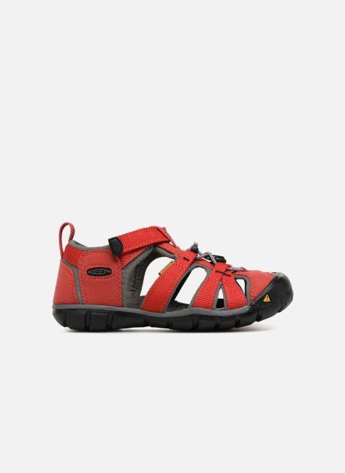 Sandales et nu-pieds Keen Seacamp ll CNX Rouge vue derrière