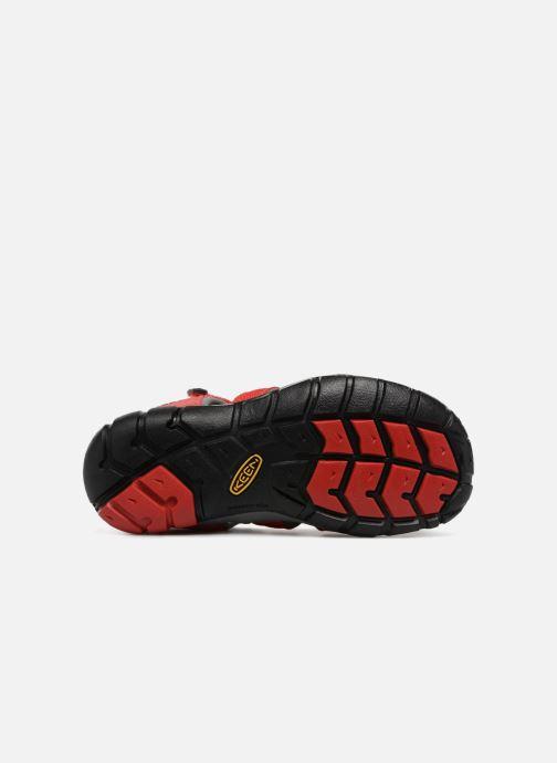 Sandales et nu-pieds Keen Seacamp ll CNX Rouge vue haut