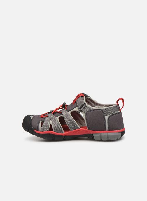 Sandales et nu-pieds Keen Seacamp ll CNX Gris vue face