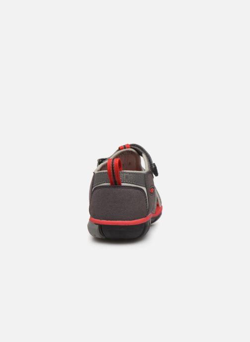 Sandales et nu-pieds Keen Seacamp ll CNX Gris vue droite