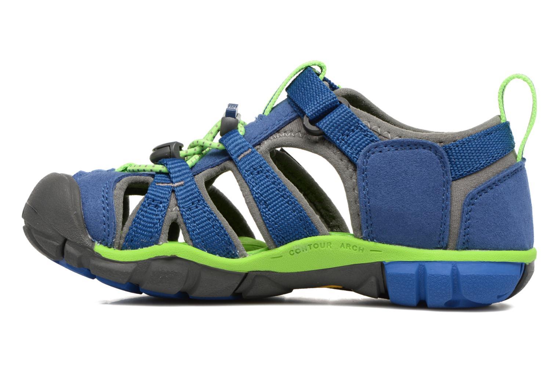 Sandali e scarpe aperte Keen Seacamp ll CNX Azzurro immagine frontale