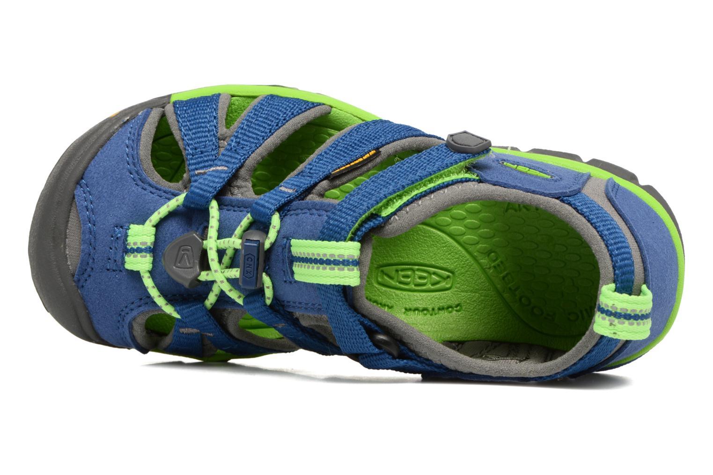 Sandali e scarpe aperte Keen Seacamp ll CNX Azzurro immagine sinistra
