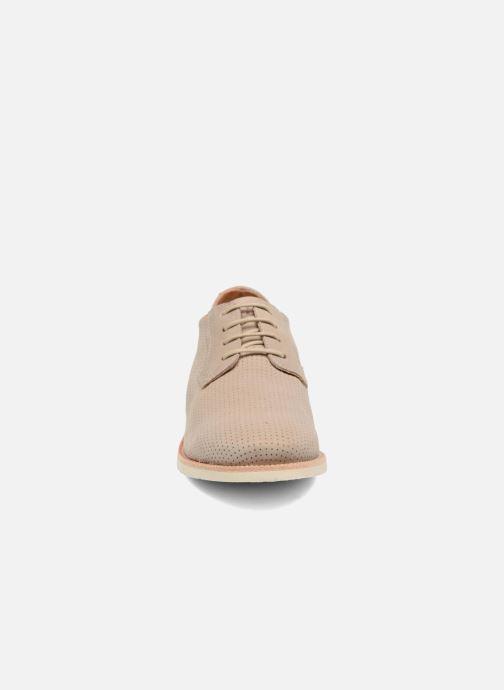Chaussures à lacets TBS Farrah 2 Beige vue portées chaussures