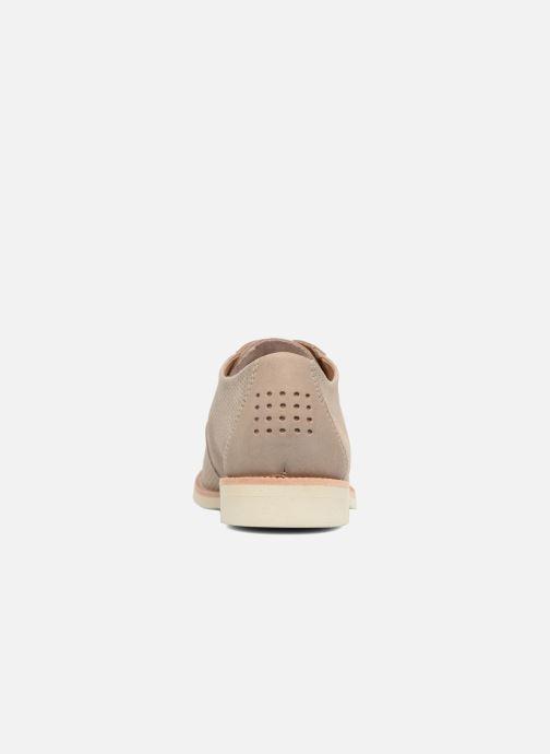 Chaussures à lacets TBS Farrah 2 Beige vue droite