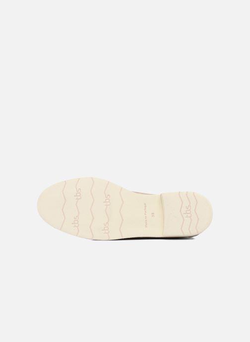 Chaussures à lacets TBS Farrah 2 Beige vue haut