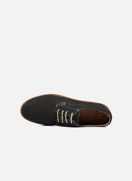 Lace-up shoes TBS Farrah 2 Blue view from the left