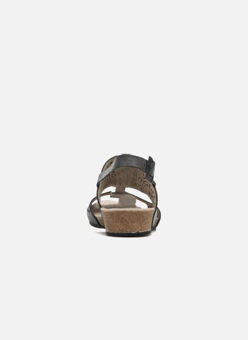Sandals TBS Koralie Black view from the right
