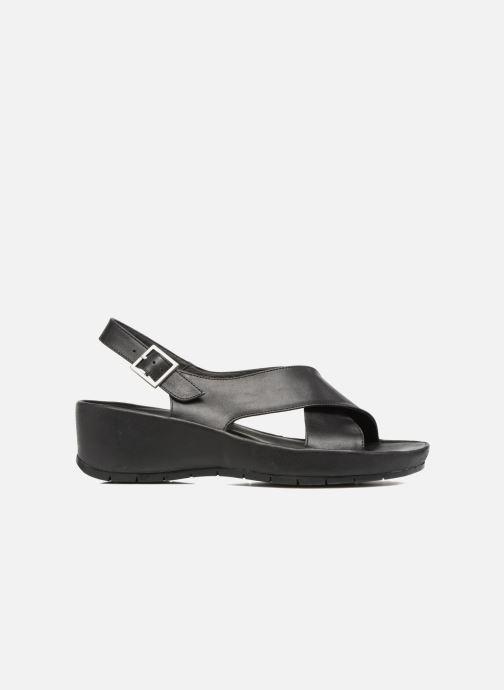 Sandales et nu-pieds TBS Louanne Noir vue derrière
