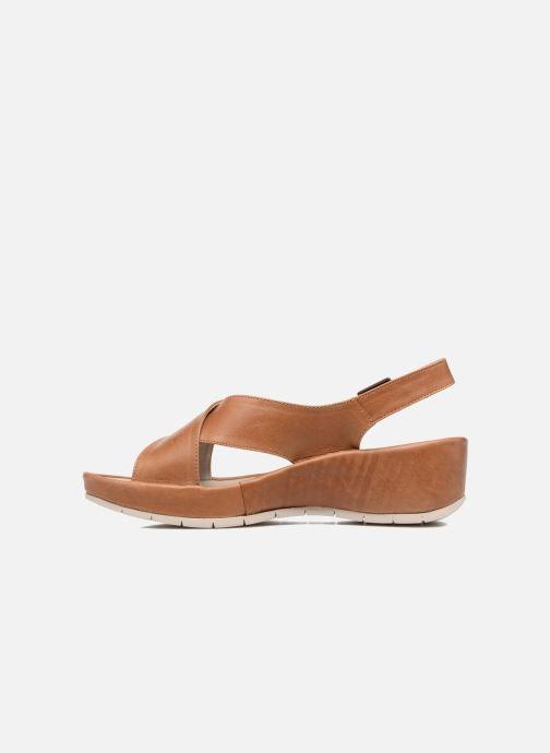 Sandalen TBS Louanne braun ansicht von vorne