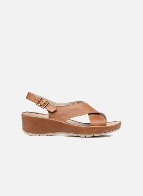 Sandals TBS Louanne Brown back view