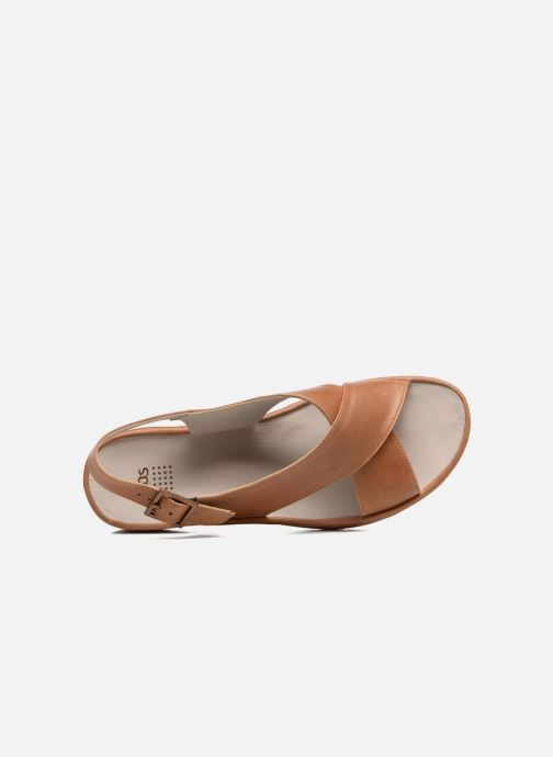 Sandalen TBS Louanne braun ansicht von links