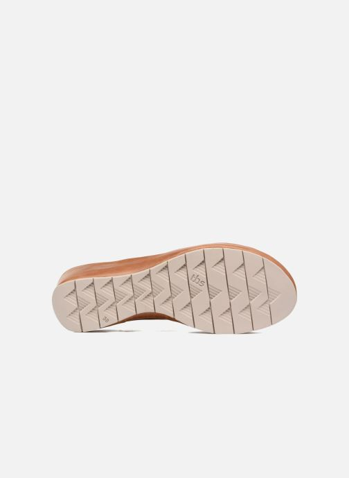 Sandalen TBS Louanne braun ansicht von oben