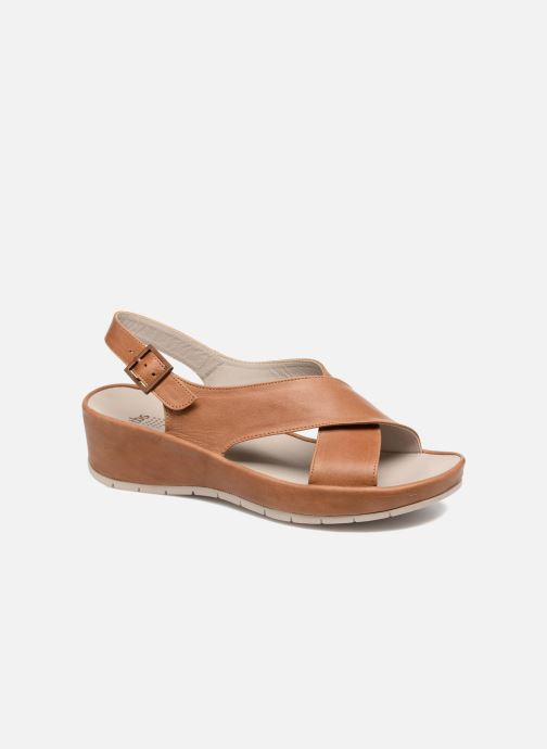 Sandals TBS Louanne Brown detailed view/ Pair view