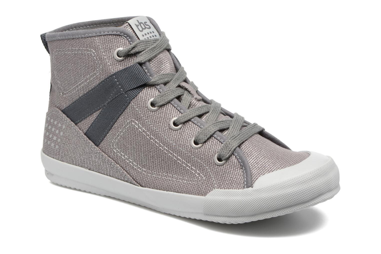 Sneakers TBS Oliviah Grijs detail