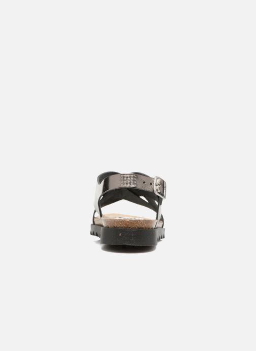 Sandalen TBS Tressie Goud en brons rechts