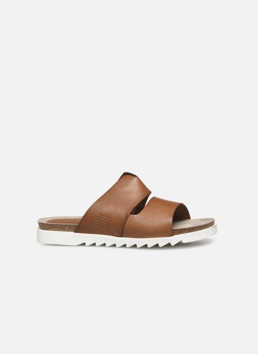 Sandales et nu-pieds TBS Typhenn Marron vue derrière