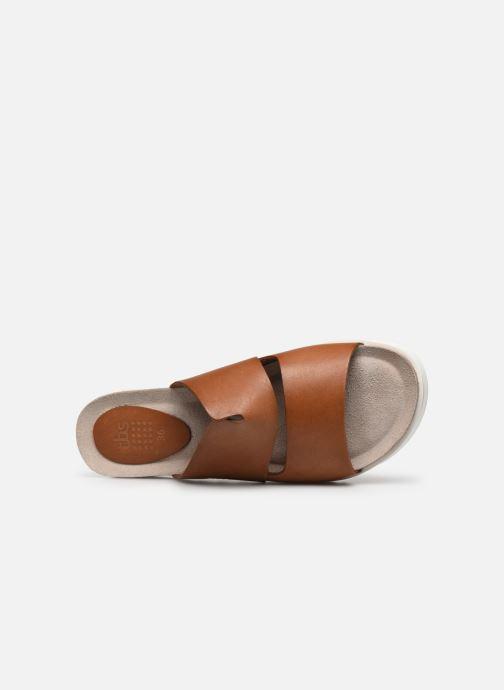 Sandales et nu-pieds TBS Typhenn Marron vue gauche