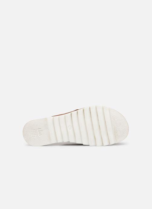 Sandales et nu-pieds TBS Typhenn Marron vue haut