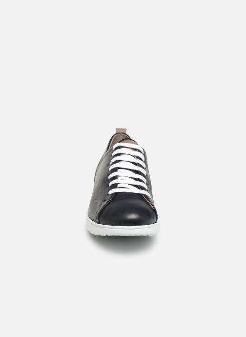 Baskets TBS Wenddie Bleu vue portées chaussures