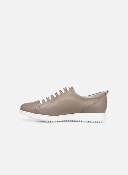 Sneakers TBS Wenddie Grijs voorkant
