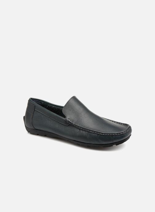 Loafers TBS Sauric Blå detaljeret billede af skoene