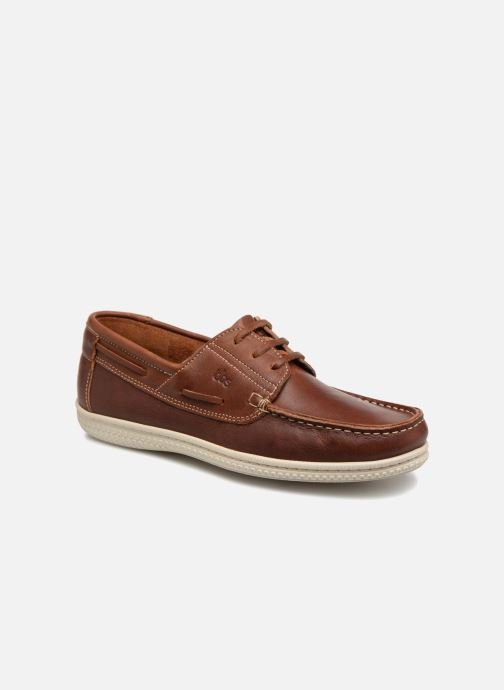 the best attitude c1d75 e83df Chaussures à lacets TBS Yolles Marron vue détail paire