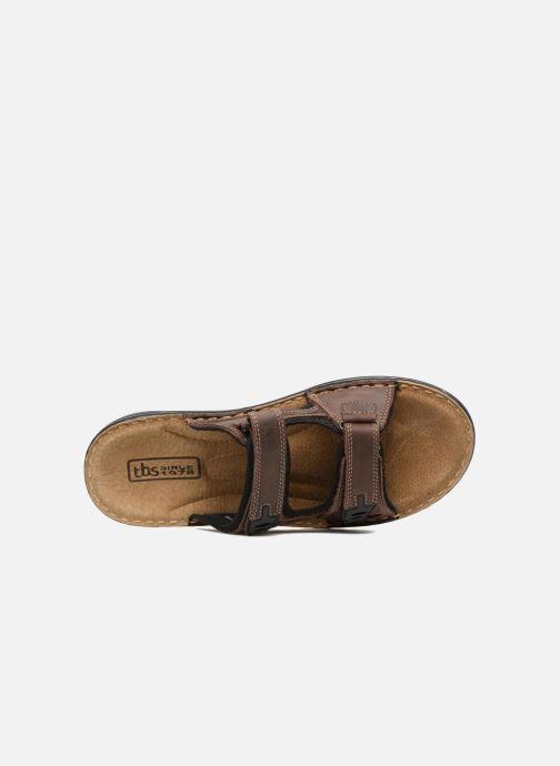 Sandales et nu-pieds TBS Easy Walk Brokey Marron vue gauche