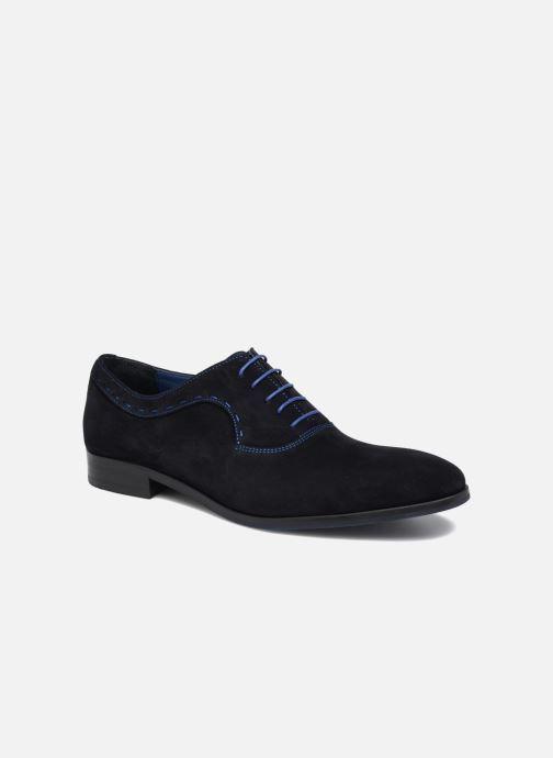 Chaussures à lacets Brett & Sons Cheston Bleu vue détail/paire