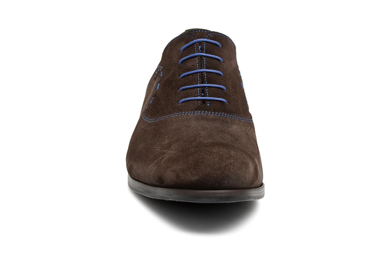 Chaussures à lacets Brett & Sons Cheston Marron vue portées chaussures