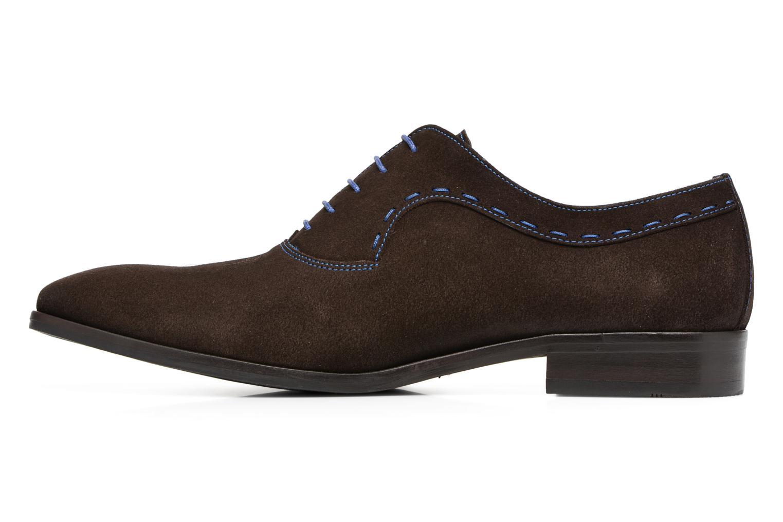 Chaussures à lacets Brett & Sons Cheston Marron vue face