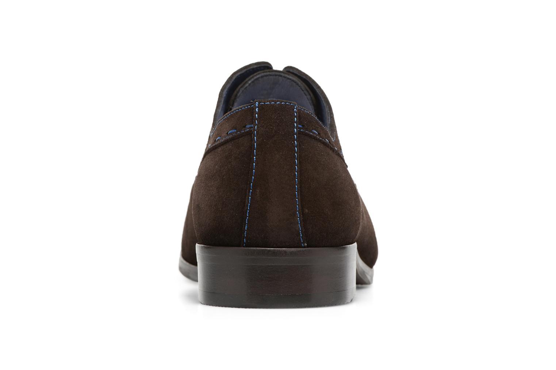 Chaussures à lacets Brett & Sons Cheston Marron vue droite
