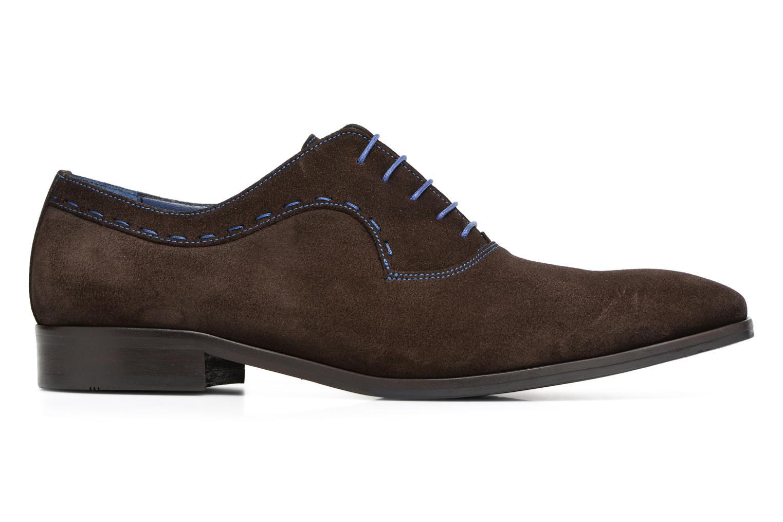 Chaussures à lacets Brett & Sons Cheston Marron vue derrière
