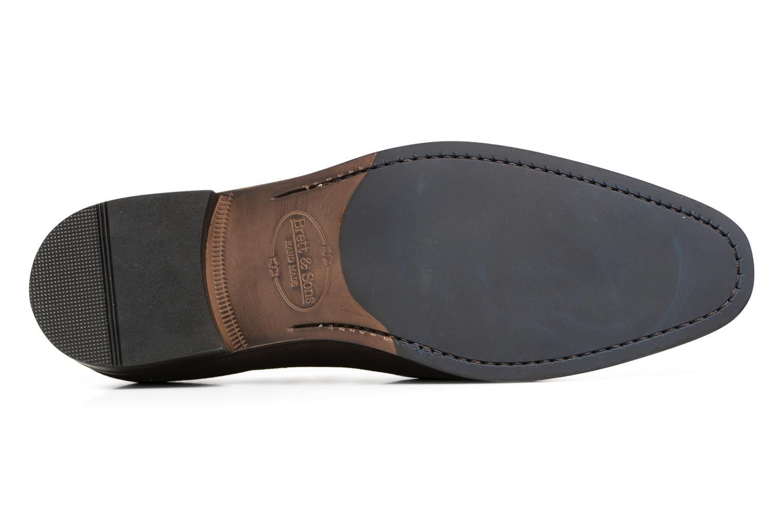 Chaussures à lacets Brett & Sons Cheston Marron vue haut
