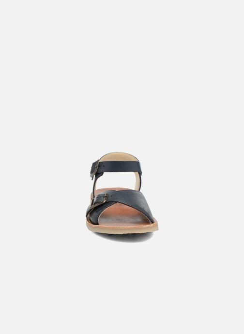 Sandales et nu-pieds Young Soles Sonny Bleu vue portées chaussures