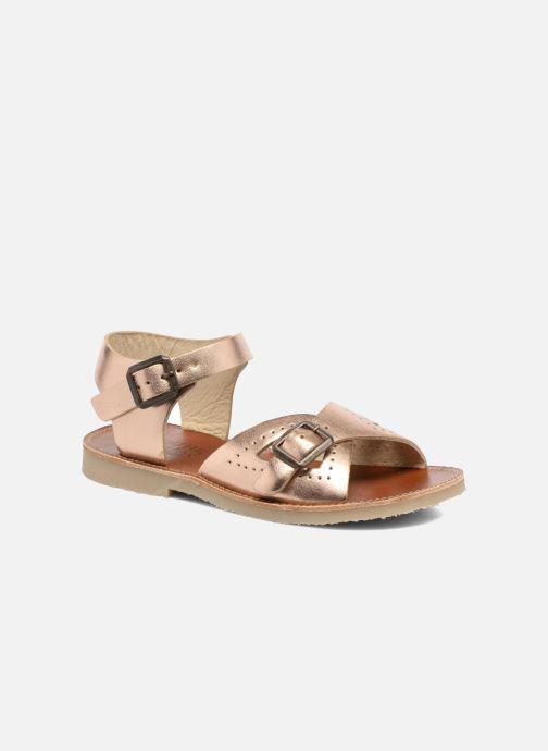 Sandaler Young Soles Pearl Pink detaljeret billede af skoene